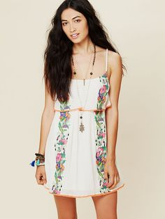 Free People Beach Party Dress, $128.00 love love love this
