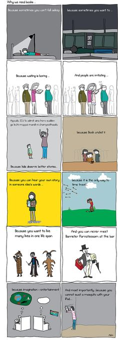 Why we need books.