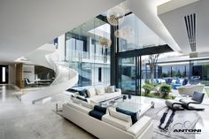 Houghton ZM house in Johannesburgh, South Africa by SAOTA and Antoni Associates