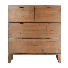 Winchester Rustic Wooden Medium Chest of Drawers
