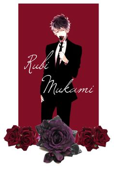 """""""Diabolik lovers (Ruki Mukami)"""" by bvb-5sos-bmth-1d ❤ liked on Polyvore featuring art"""