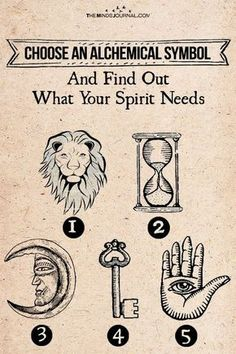 Choose an Alchemical Symbol – Find Out what Your Spirit Thirsts for Choose an Alchemical Symbol – See what Your Soul Needs Psychology Symbol, Spiritual Psychology, Psychology Facts, Spiritual Test, Spiritual Enlightenment, Fun Test, Tribal Symbols, Soul Connection, Spiritual Connection