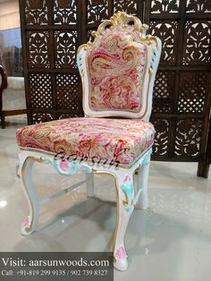 Enrich Your Home with Our Premium Dining Chair Collection...- @Aarsun Woods  #luxury #dining #chair #design #baroque #home #furniture #traditional #carved #buy #online #Saharanpur #India
