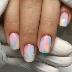 Pin on Nageldesign - Nail Art - Nagellack - Nail Polish - Nailart - Nails Fancy Nails Designs, Nail Art Designs Videos, Gel Nail Art Designs, Tribal Nail Designs, Square Nail Designs, Short Nail Designs, Short Nail Manicure, Gel Nails, Coffin Nails