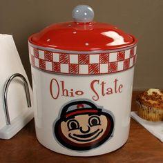Ohio State Buckeyes Gameday Ceramic Cookie Jar