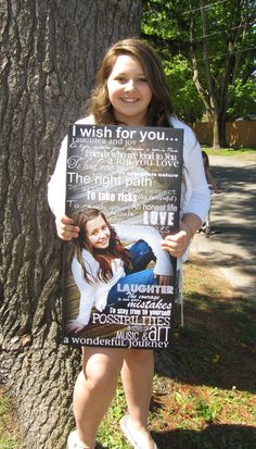 Graduation Poster Ideas Discover BAPTISM Confirmation SWEET 16 Graduation- Personalized Photo Giclee Mounted prints- custom made to order- x Confirmation Gifts, Fathers Day Crafts, Grandparents Day, 16th Birthday, Birthday Ideas, Grad Parties, Recycled Art, Graduation Gifts, Graduation Ideas