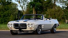 1969 Pontiac Trans Am Convertible 4-Speed, The Only Triple White Example Built presented as lot R215 at Kissimmee, FL 2016 - image1