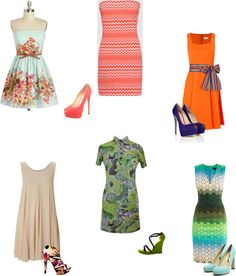 """dresses"" by allison-swiller ❤ liked on Polyvore"