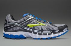 Brooks Vapor 10 - Mens Running Shoes - Olympian Blue-Black-Silver-Lime Punch-White-Shadow-Lunar Rock