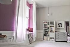"Katie's ""Purple Toned Grays"" Room"