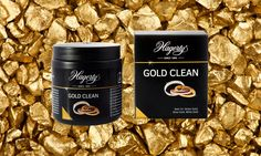 Gold Clean cleans and restores the luster of white, pink and yellow gold, platinum and gold plated jewelry.