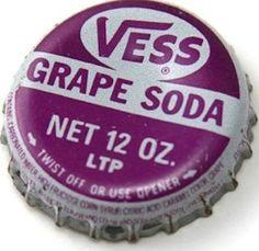 So good...Vess Grape Soda
