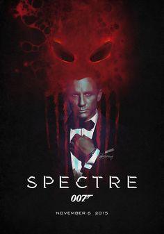 Spectre (2014) | Teaser poster for the next Bond movie.