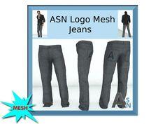 ASN Mens Jeans - MESH