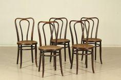 Gruppo 5 sedie Kohn #dimanoinmano, #bottega
