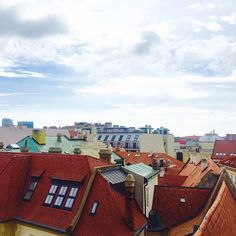 The rooftops of Bratislava, as viewed from the top of the tower of the old town hall. #colour #rooftops #sky #clouds #neverstopexploring #bratislava #slovakia #multicolored #buenavista #interrail #memories #instatravel (scheduled via http://www.tailwindapp.com?utm_source=pinterest&utm_medium=twpin&utm_content=post118343623&utm_campaign=scheduler_attribution)