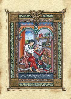 Jay Johnstone - Bilbo at the Library at Rivendell