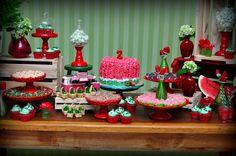 Macetes de Mãe: Festa de aniversário tema melancia - inspirações