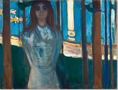 Edvard Munch - The Voice Summer Night Painting