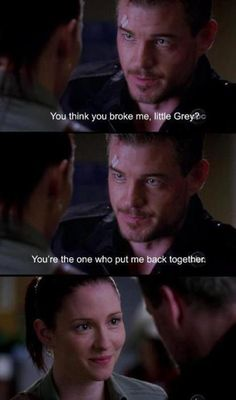 Mark and Lexie - Grey's Anatomy God I miss these two!!!