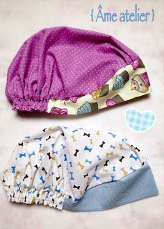 CUBRE CABEZAS PARA MEDICOS - Touca fofa, para médicos, veterinários… Sewing Hacks, Sewing Tutorials, Sewing Projects, Sewing Patterns, Scrubs Pattern, Scrub Hat Patterns, Surgical Caps, Turban Hat, Scrub Caps