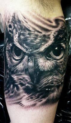 Realistic Animal Tattoo by Hexa Salmela | Tattoo No. 5138