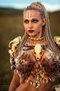 Tribal Warrior, Viking Warrior, Warrior Girl, Viking Woman, Fantasy Female Warrior, Fantasy Women, Fantasy Girl, Viking Halloween Costume, Vikings Halloween