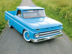 "In our search for ""my truck"" I keep being drawn to the 1965 - 1970 ones.   1966 Chevy C10 Pickup Truck Custom Front Grill"