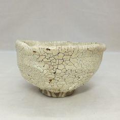 D117-Japanese-old-KARATSU-pottery-tea-bowl-with-popular-KAIRAGI-glaze    AGE : 1868-1912 (It is Japanese Meiji Period). Tea Bowls, Stoneware, Glaze, Decorative Bowls, Period, Pottery, Japanese, Ceramics, Popular