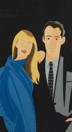 Alex Katz, Janet Leonard & David Salle, from Pas de Deux 5
