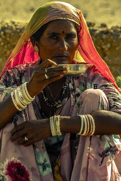 Morning Chai - Indian tea We Are The World, People Around The World, Ariana Grande Drawings, Indian Colours, Tea Culture, India People, Tribal People, Portraits, Asian History