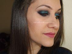 Maquillaje y Outfit | Vestido azul H