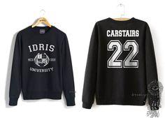 Carstairs 22 Idris University Crew neck Sweatshirt