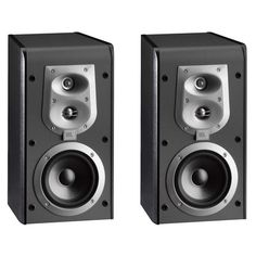 Get your party started right with these JBL ES20 3-Way Bookshelf Speakers! #speakers