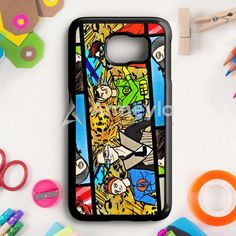 5Sos Superhero Samsung Galaxy S6 Edge Case   armeyla.com