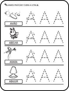 alfabeto tracejado para imprimir - Pesquisa Google