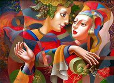 oleg zhivetin | ... رسم من المدرسة التكعيبة بريشة: Oleg Zhivetin