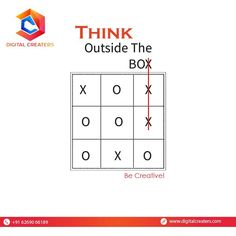 To be the best, one needs to think out of the box. Creativity is the step to success. To help you with creativity, we are here for you! For Services related to Digital Marketing and Websites Development contact Us: +916269066189. Have a great day ahead !! #thinkbig #becreative #thinkcreative #smartmove #smarthinking #growdigitally #digitalcreaters #dc #branding #digitalplatform #grow #strategy #trending #marketingworld #onlineworld #growyourbusiness #digitalmarketing #marketingservices Steps To Success, Think Big, Digital Marketing, Branding, Business, Creative, Brand Management, Store, Identity Branding