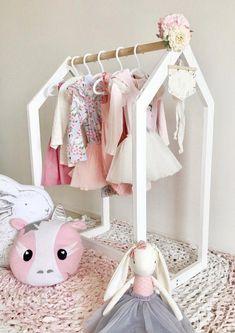 Clothing Rack l For Kids Bedroom l Montessori Clothing Rack l Kids Room Furnitur. - Clothing Rack l For Kids Bedroom l Montessori Clothing Rack l Kids Room Furniture l Source by etsy_UK -