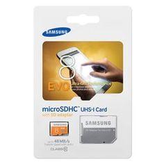 Tarjeta de Memoria Micro SD HC EVO 8 GB Samsung Clase 10 + Adaptador