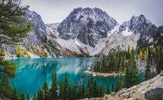 Shot of the Week: Colchuck Lake, Okanogan-Wenatchee National Forest, Washington on northtosouth.us
