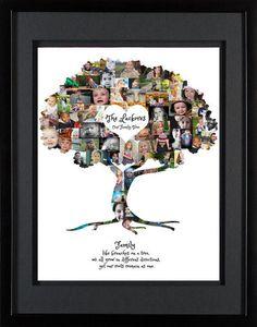 Family Tree Collage Family Tree Wall Art Family Tree print & Etsy Source by sywar Family Tree Photo, Family Tree Print, Family Tree Wall, Tree Wall Art, Tree Art, Family Tree Gifts, Family Tree With Pictures, Tree Collage, Family Collage
