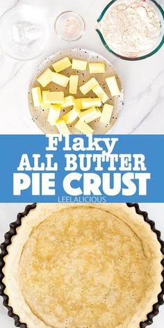This flaky butter pie crust recipe results in an incredibly buttery and flaky pastry. It is suitable for a traditional 9-inch pie shell as well as the base of a rustic galette. Since it is unsweetened, you can utilize it for any savoury pies, such as quiches, as well.