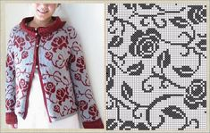 Tapestry, Knitting, Blouse, Cardigans, Chanel, Tops, Design, Women, Fashion