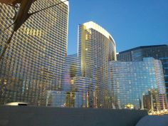 Aria hotel, what we named our baby after