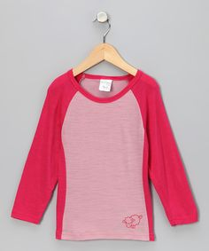 Love this Marselme Pink Merino Wool Tee - Infant, Toddler & Girls by Marselme on #zulily! #zulilyfinds