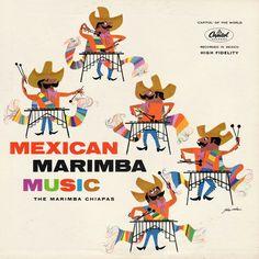 The Marimba Chiapas - Mexican Marimba Music (1959)