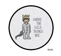 Cross Stitch Pattern Where the wild things are
