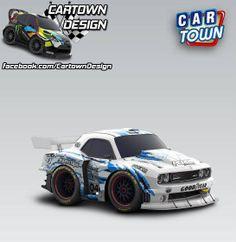 Dodge SRT Challenger Race Edition 2014 - Cartown Design