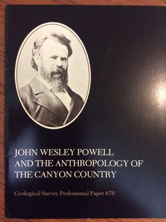 Best Price JOHN WESLEY POWELL Anthropology The Canyon Country GRAND CANYON